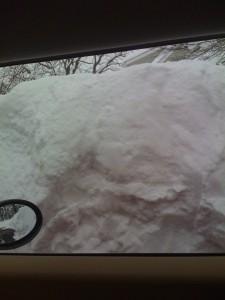 ugh, snow!